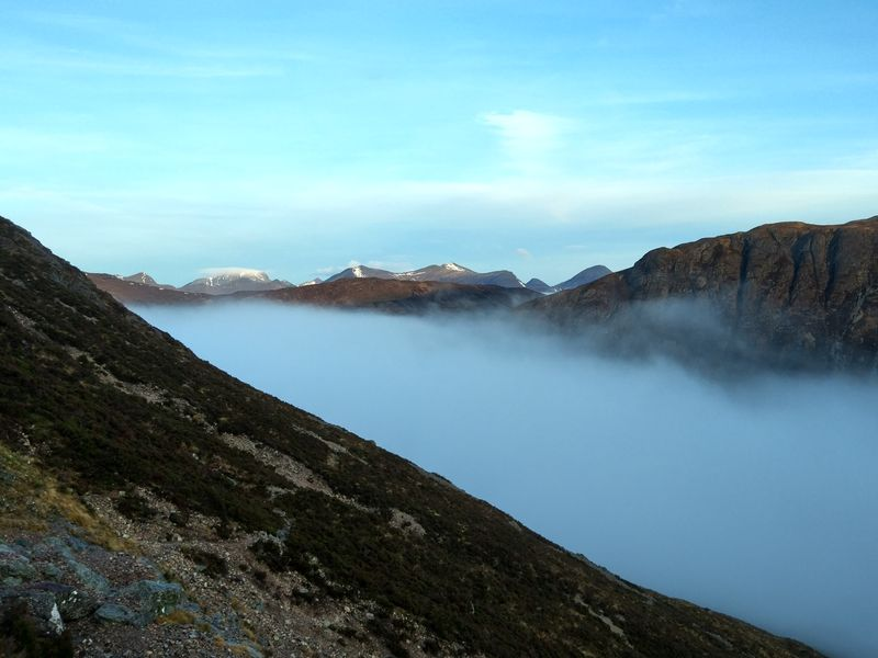 Views to Ben Nevis from Glencoe