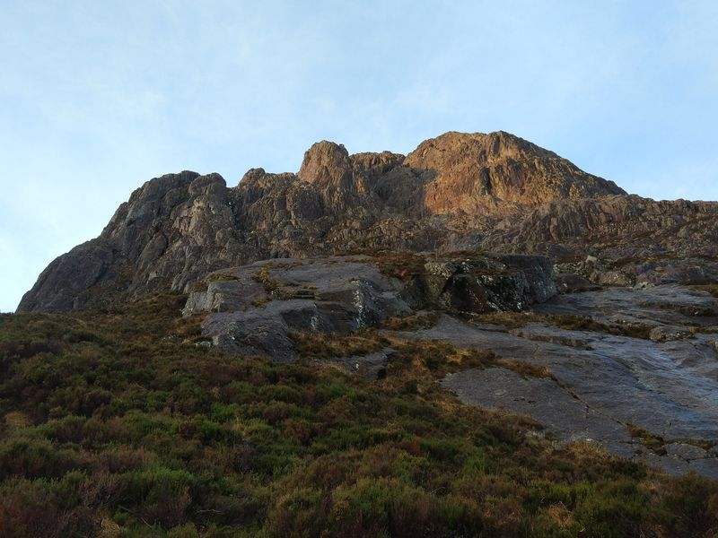 Curved Ridge & North Buttress