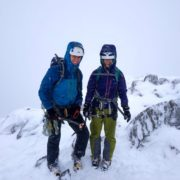 Winter Climbing Conditions Glencoe