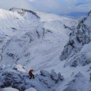 Final ridge of the East Ridge
