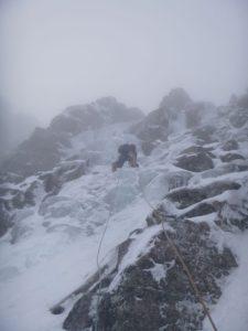 Ice East Face Aonach Mor