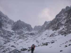 Heading up to Lost the Place, Ben Nevis