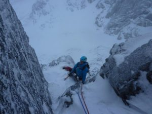 Han on Lost the Place, Ben Nevis