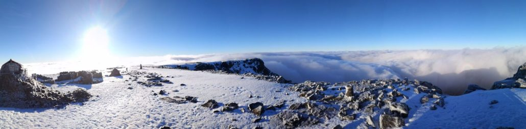 Cloud inversion on Ben Nevis