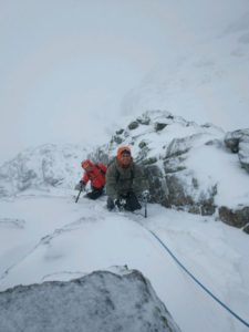 Castle Ridge, Winter Climbing Course