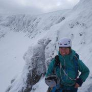 Guiding the brilliant Morwind on Aonach Mor
