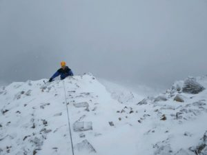 School House Ridge, Winter Climbing Course