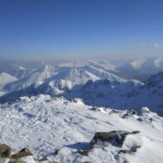 View from the summit of Stob Coire nan Lochan