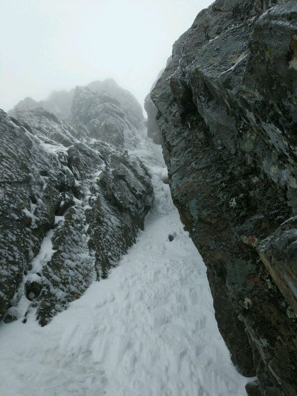 Comb Gully Winter Climbing Course