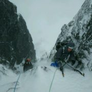 Comb Gully Ben Nevis Winter Climbing Course