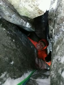 Crypt Route, Winter Climbing Course