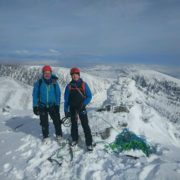NE Buttress Ben Nevis Guided Winter Climbing