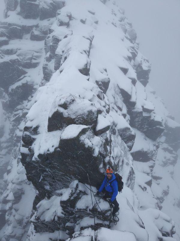 Tower Ridge Winter Climbing Course