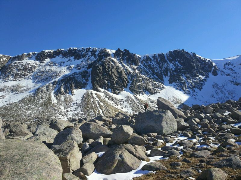 Coire an t-Sneadha Winter Mountaineering Course