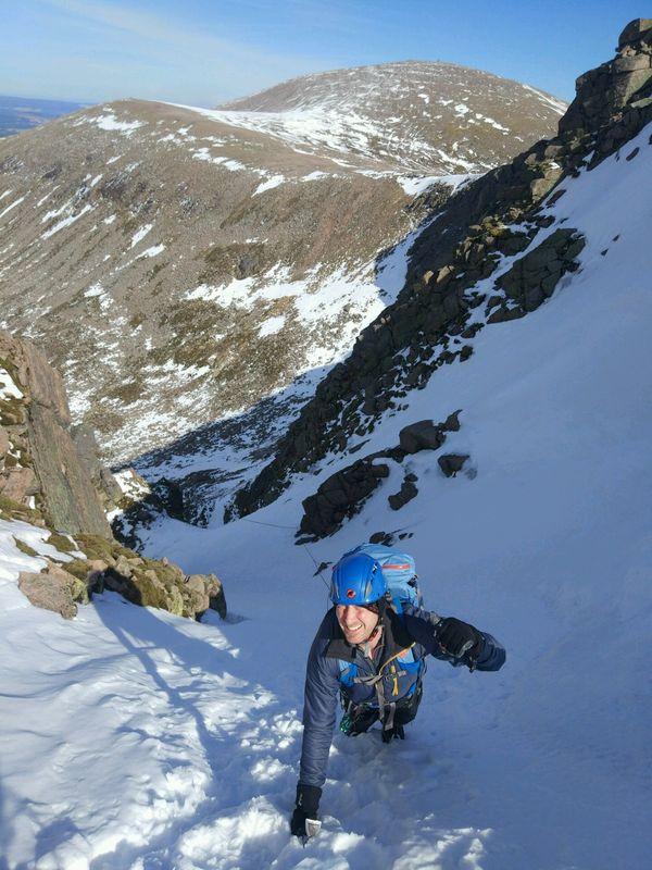 Aladdin's Couloir Winter Mountaineering Course