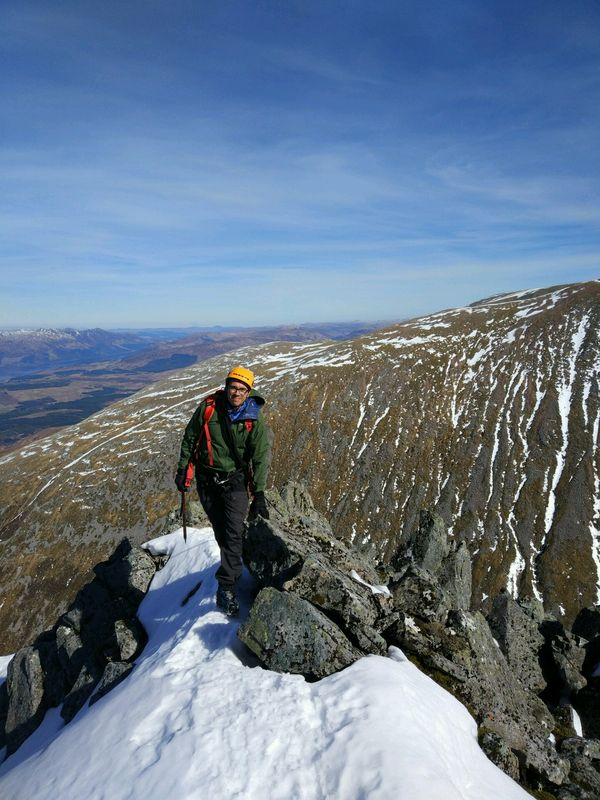 Ledge Route Winter Mountaineering Course
