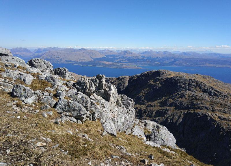 Great Ridge Direct, Garbh Bheinn