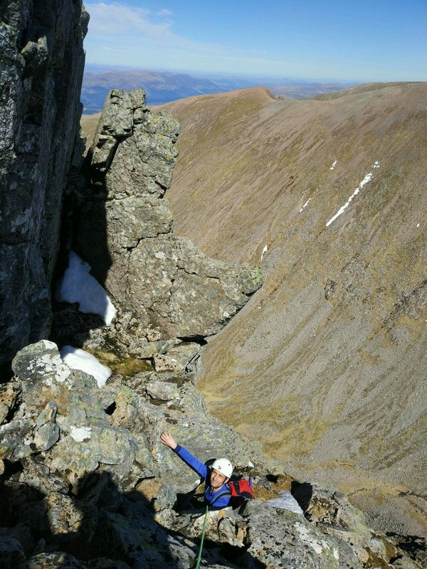 's Arete and North East Buttress