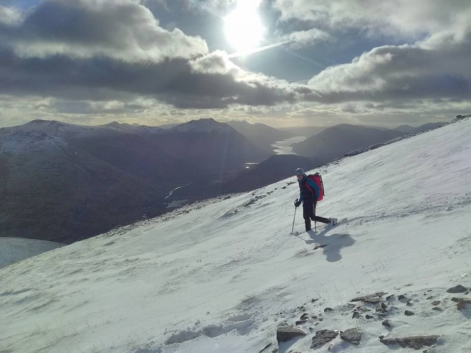 Winter Climbing Conditions, Glencoe