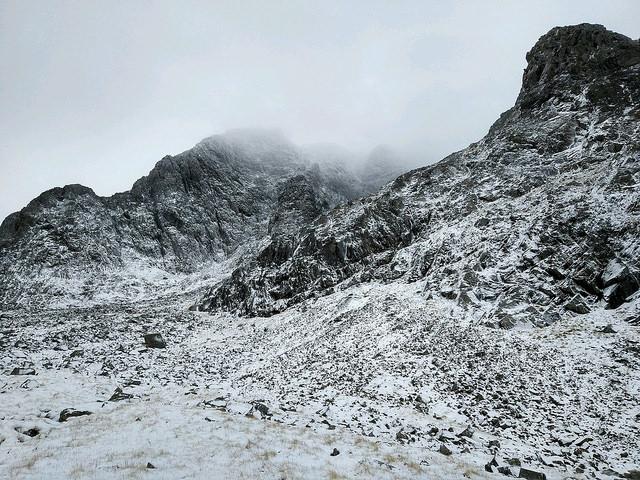 Winter Climbing Ben Nevis