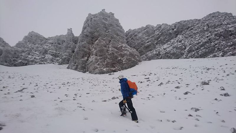 On the approach to Centrepoint, Stob Coire an Laoigh