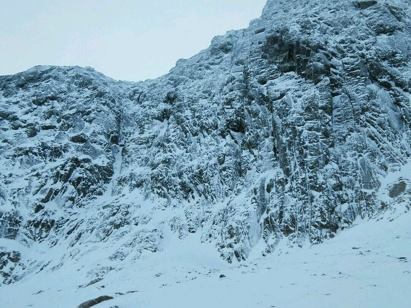 Slingsby's Chimney and Slab Rib Variation, Ben Nevis