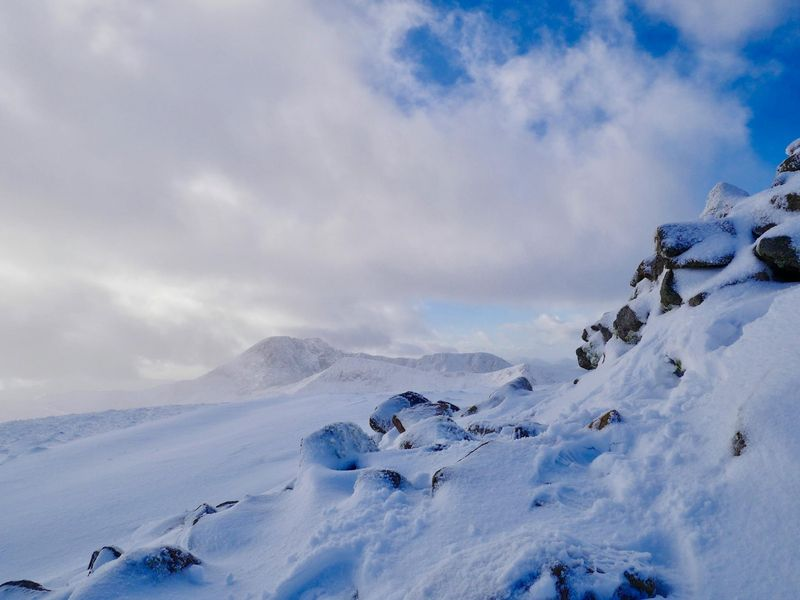 Winter Climbing Conditions Aonach Mor