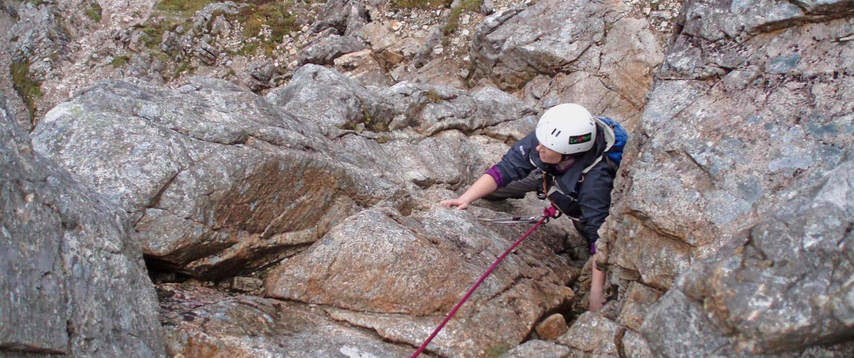 Climbing Curved Ridge