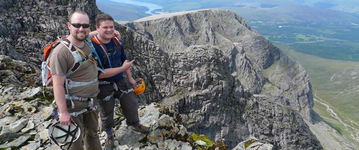 Guided ascent of Tower Ridge Ben Nevis