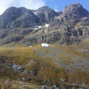 Up Castle Ridge, down Ledge Route