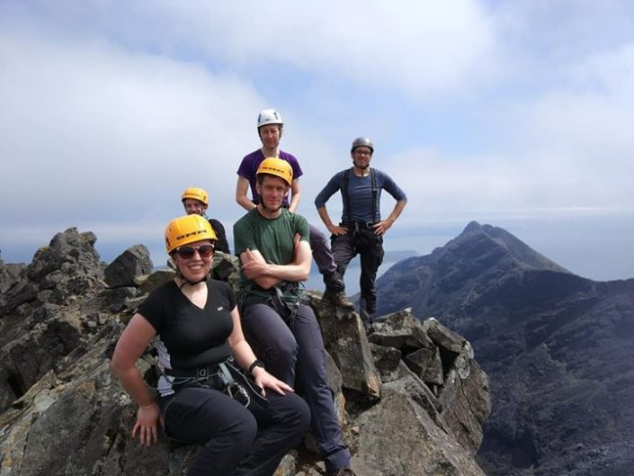 Day 1 of our Skye Munros Course