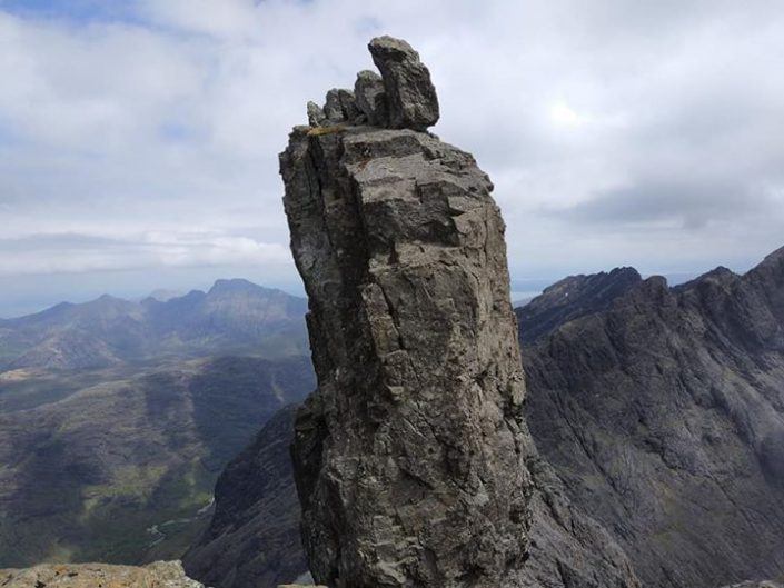 Day 2 of our Skye Munros Course