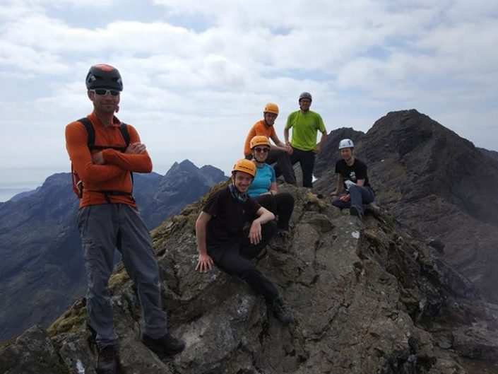 Day 3 of our Skye Munros Course