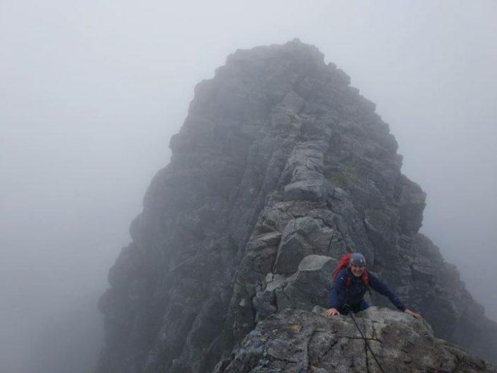 On Home Turf: Tower Ridge, Ben Nevis