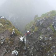 Driech on the Aonach Eagach
