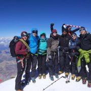 Elbrus Success and back in Scotland
