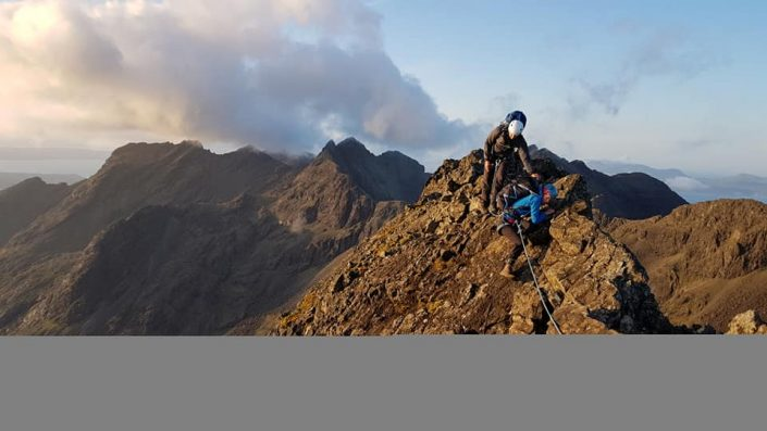 Cuillin Ridge Traverse success yesterday and a wet day today