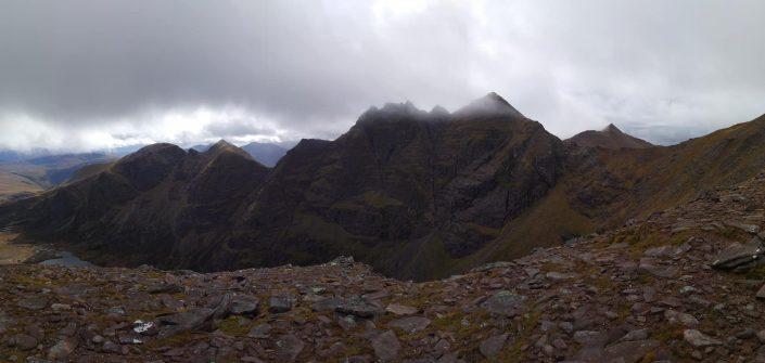 Curved Ridge && An Teallach Tops