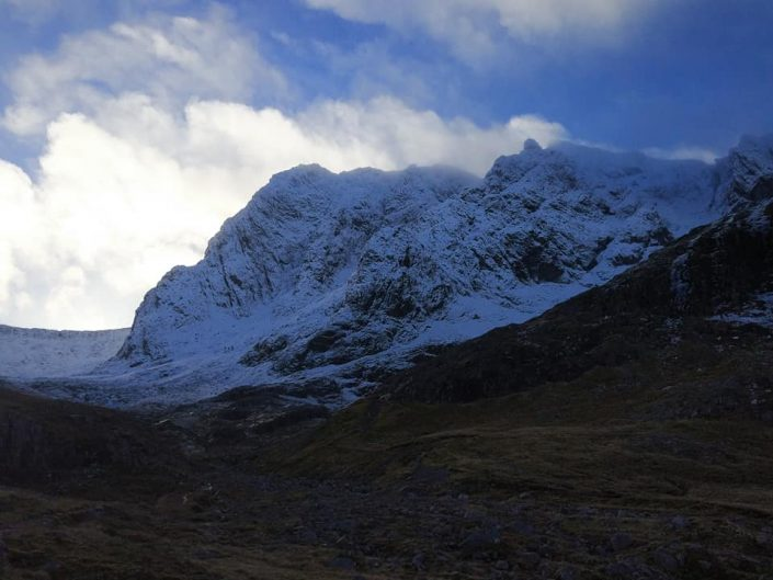 Another snowy day on Ben Nevis