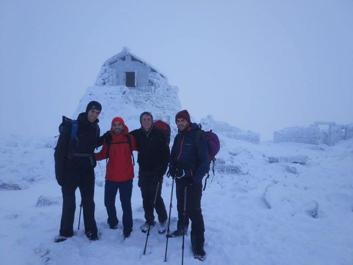 Nice on Ben Nevis today