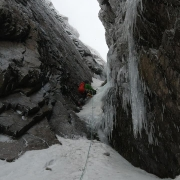 Icy in No. 2 Gully, Ben Nevis