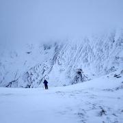 Stob Ban - White Peak