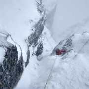 Proper winters day on Comb Gully, Ben Nevis