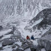 Up Tower Ridge, Down Ledge Route
