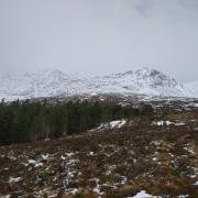 Winter still holding on - East Ridge of Beinn a'Chaorainn