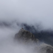 Atmospheric day on the southern 3 Munros, Skye