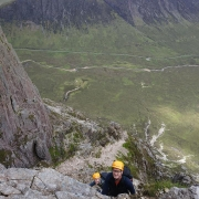 More unexpected good weather on Curved Ridge, Glencoe