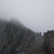 Raw day in the Cuillins, Skye