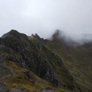Nice day on the Aonach Eagach, Glencoe