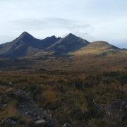 Breezy and dry on the Northern 3 Munros, Skye
